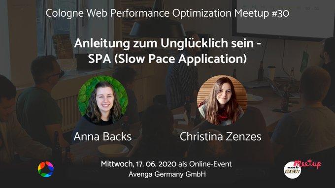 CGNwebperf Meetup 30 Poster