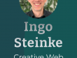 Screenshot: Portfolio Website of Ingo Steinke